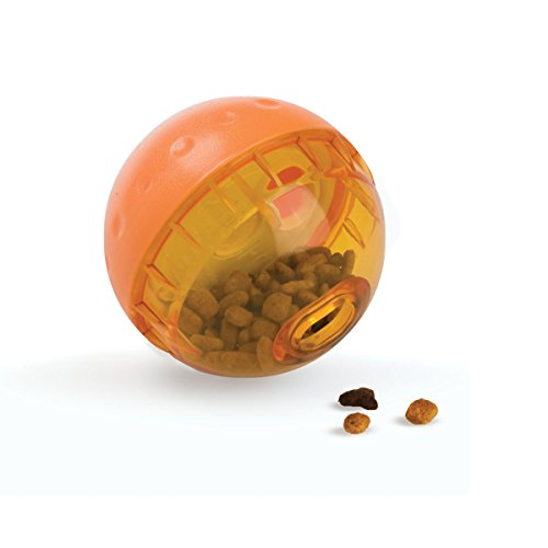 OurPets IQ Treat Ball Interactive Food Dispensing Dog (Fun 4 The Brain.com)