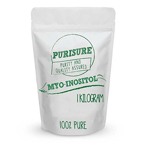 Myo Inositol Powder 1kg (2000 Servings) | Nootropic | Cognitive Enhancer | Mood Support | Memory | Learning | Focus | Concentration | Boosts Mental and Physical Energy