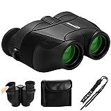 Aurosports 12x25 HD Compact Binoculars w...