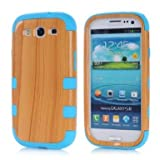 Samsung galaxy s3 case,samsung s3 case,samsung galaxy s3 cases,Linycase Carryberry Beautiful 3in1 New Wood Bamboo Wooden Print Series Hard Cover Case for Samsung Galaxy S3 i9300#04.
