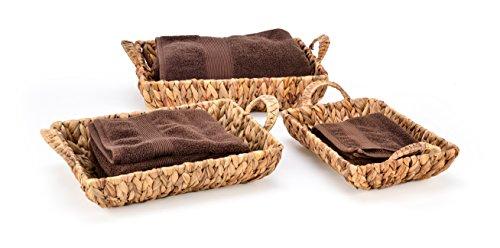 Rectangular Hyacinth Baskets Trademark Innovations