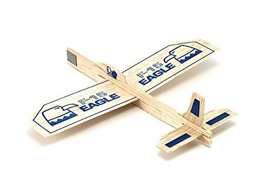 Guillows Balsa Airplane Eagle Glider Plane Toy - Party Favor Lot Of 6
