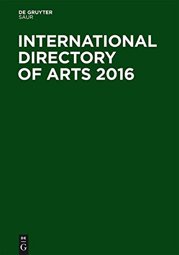 International Directory of Arts 2016