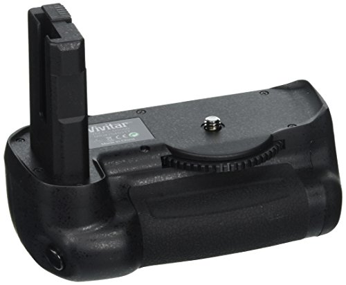 Zeikos Battery Grip - Vivitar Pro Multi-Power Battery Grip for Nikon D5500 DSLR Camera