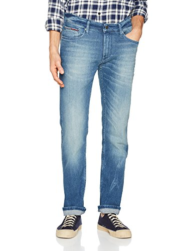 Tommy_Jeans Original Straight Ryan Bemb, Vaqueros Hombre Azul (Berry Mid Blue Comfort 911)