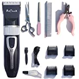 Pet Oscars Dog Clippers - Heavy-Duty Dog Shaver, Rechargeable & Cordless Hair Trimmer