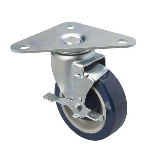 5'' Triangle Plate Casters (Set of 4)