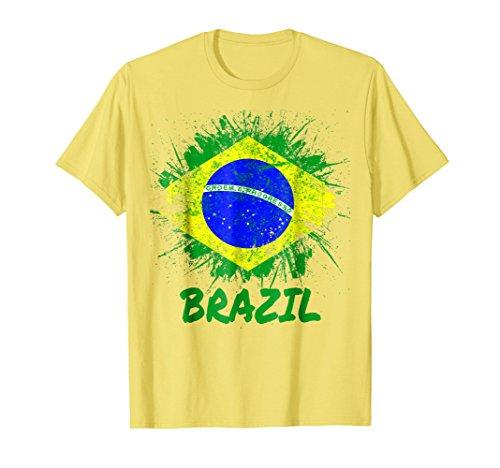 - Brazil Soccer Jersey Shirt Flag Brasil Men Women Kids