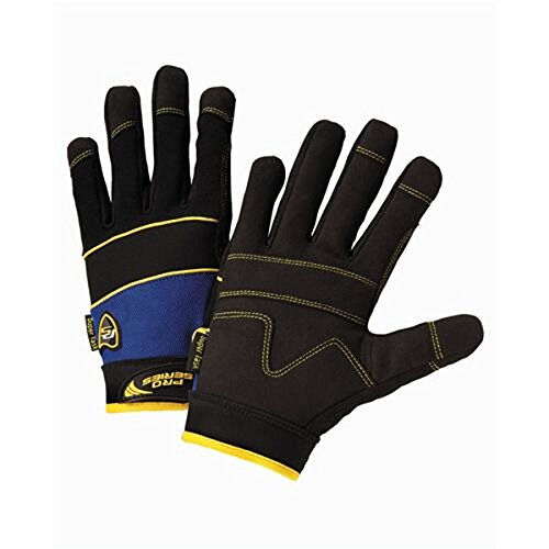 (West Chester 86500 Pro Series Tank Gloves, XL, Black)