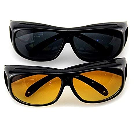 7f73c1c589 Gujline Goggles for Day   Night Anti-Glare Polarized Sunglasses Hd Vision  Men Women