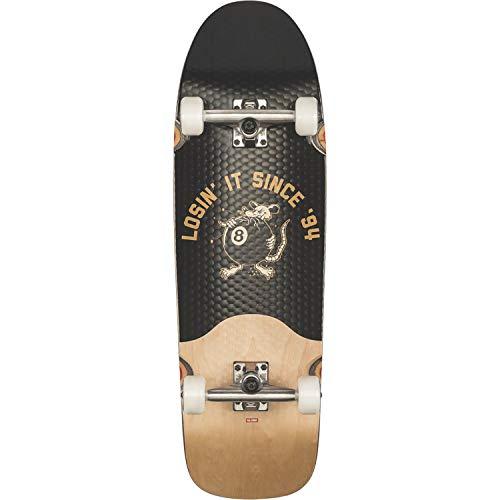 Globe Chopper Complete Skateboard -9.75x32.25 Black/Natural