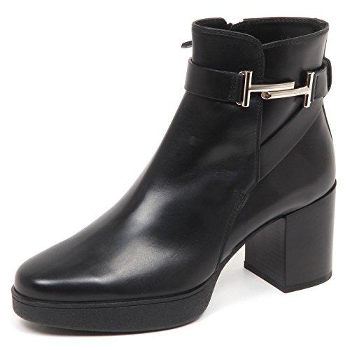Nero Tod's Scarpe Black Tronchetto T doppia Woman Shoe Boot Donna E5178 wgg1vCxq4