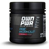 OWN PWR Elite Series Pre Workout Powder, Fruit Punch, 25 Servings, Keto Friendly, 5G Creatine, 2G Beta Alanine (as CarnoSyn), 300 mg Caffeine & more