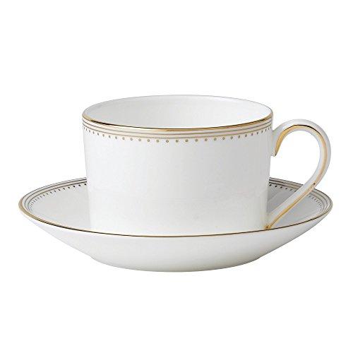 Wedgwood Golden Grosgrain - Teacup White Wedgewood