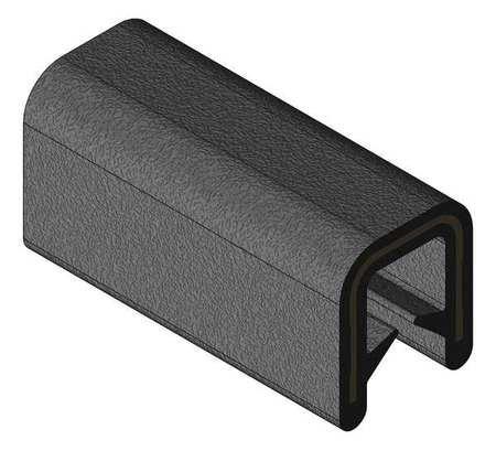 Edge Trim, Alum Clip, 0.2 In W, 250 Ft - Edge Trim Alum Clip