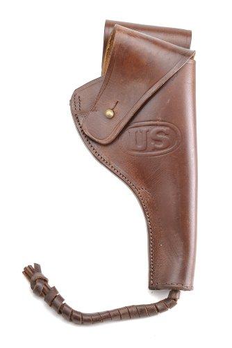 - World War Supply US M1917 1942 .45 PISTOL REVOLVER HOLSTER Premium Drum Dyed Leather