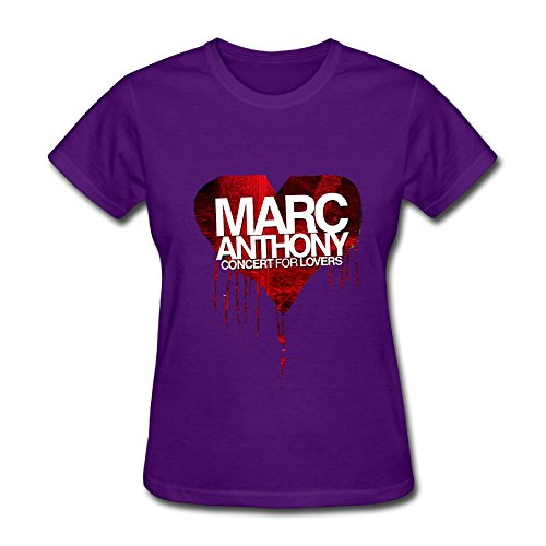 - Hot Latin Marc Anthony Concert For Lover 2016 T Shirt For Women