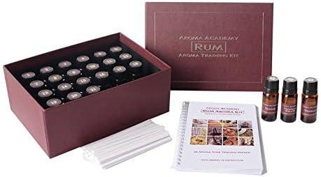 Aroma Academy - Rum Aroma Kit - 24 Aroma Nose Training System by Aroma: Amazon.es: Hogar