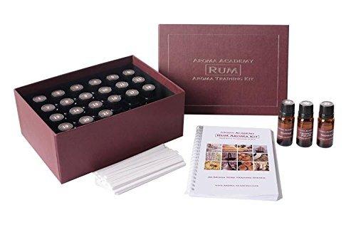 Aroma Academy - Rum Aroma Kit - 24 Aroma Nose Training System