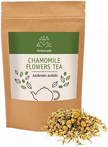 100 Pure Roman Chamomile Flower Anthemis nobilis Dried Natural Wildcrafted Herbal Tea Loose 3 oz 90gr by Teliaoils in Resealable Pouch