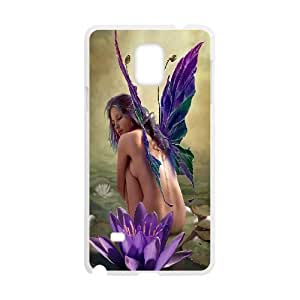 Samsung Galaxy Note 4 Case Fairy Sexy Girl Purple White Yearinspace YS366363