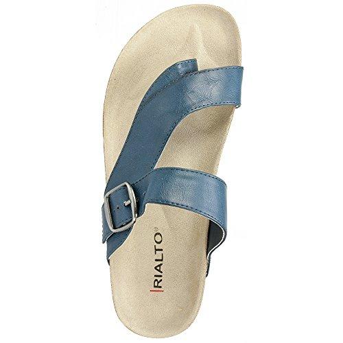 Rialto Shoes 'FARLEY' Women's Sandal, Navy - 8 M Photo #4