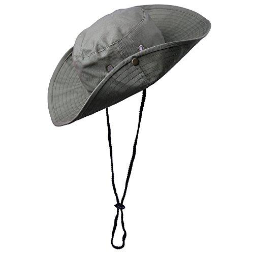 HDE Bucket Hat Bora Bora Booney Wide Brim Outdoor Sun Hats (Hat Rain Safari)