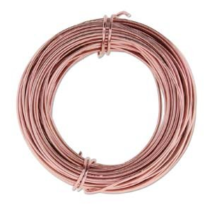Aluminum Craft Wire 18 Gauge 39 Feet ROSE GOLD