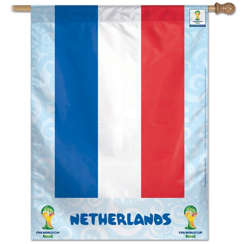"Netherlands - 27"" x 37"" Country World Cup 2014 Vertical Banner"