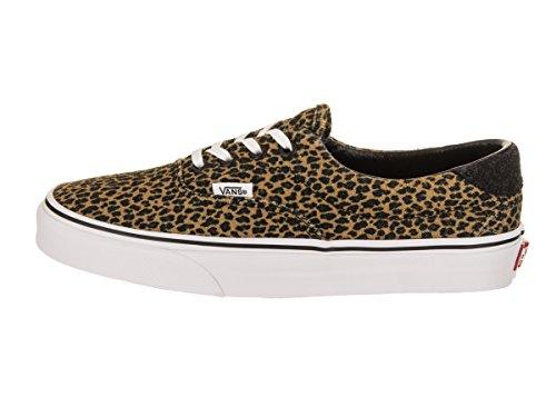 Vans Unisex Ära 59 (Mini Leopard) Skate Schuh Braun / True White