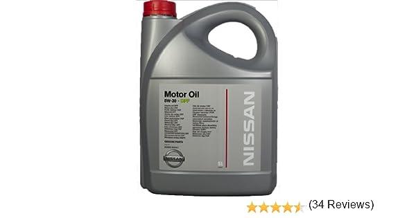 Genuina Nissan DPF 5W30 Aceite de 5 Litros Todo Motores Diesel ...
