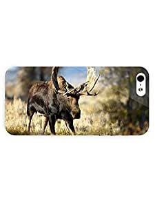 3d Full Wrap Case for iPhone 5/5s Animal Moose20 wangjiang maoyi