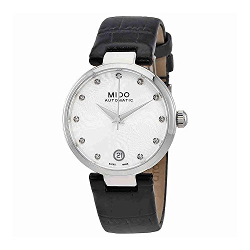 Mido Baroncelli II Automatic Silver Dial Ladies Watch M022.207.16.036.00