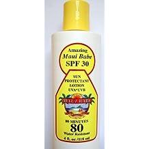 Sun Block SPF 30 Sunscreen UVA UVB 4 oz by Maui Babe