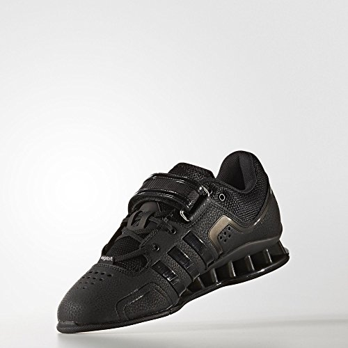 Fitness Black Weightlifting adidas Adipower de Chaussures Mixte Adulte wSwfqaI
