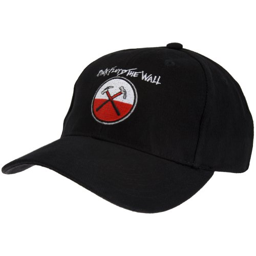Pink Floyd Hats - The Wall - Mens Pink Floyd - Hammers Baseball Cap Black