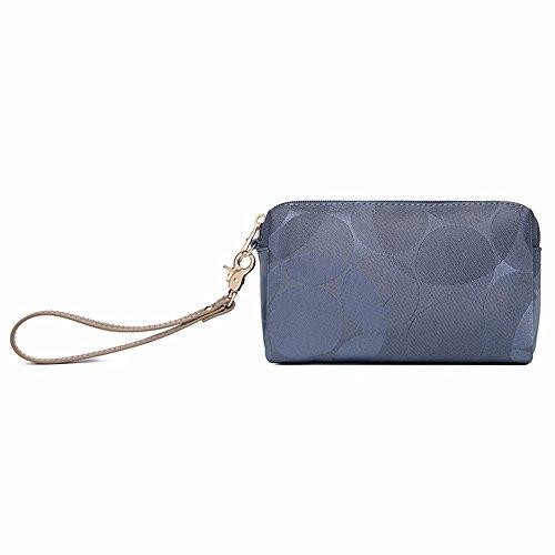 leinwand - kupplung tasche, großer umschlag tasche mobile brieftasche 18 * 11cm,blau c