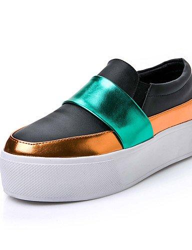 7 Plano white Zapatos ZQ Mocasines eu37 5 Tacón us6 Semicuero de mujer Exterior cn37 Negro uk4 uk4 Casual Vestido eu37 5 Blanco eu37 uk4 5 cn37 5 Plataforma cn37 5 5 5 us6 white 7 5 5 us6 7 white dIqdaO