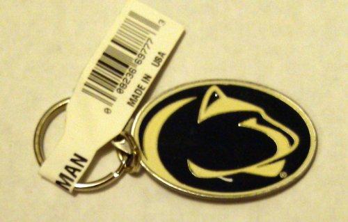 Penn State Nittany Lions Pewter Medallion Keychain Key chain University of ()