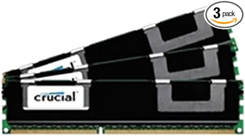 Micron Technology 12GB kit DDR3 PC3-12800 Memory Module 3 x 4 GB 1600 MHz CT3K4G3ERSLS4160B - DDR3 SDRAM 240-pin DIMM 4GBx3 12 GB