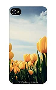 Durable Case For The Iphone 5/5s - Eco-friendly Retail Packaging(yellow Tulips)