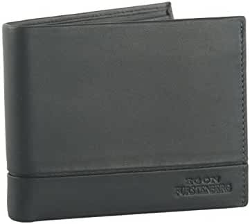 Mini wallet man EGON FURSTENBERG grey credit card holder with flap VA322