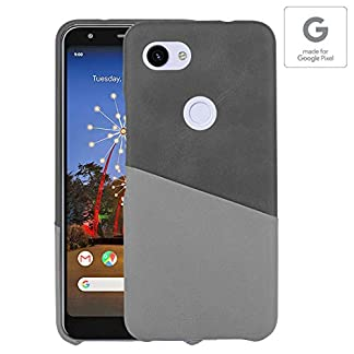 Stuffcool Soho PU Leather Hard Back Cases Cover for Google Pixel 3A XL (6 Inch) with Card Holder – Black – Authorized Made for Google Pixel Accessory 41UhpnNPM1L