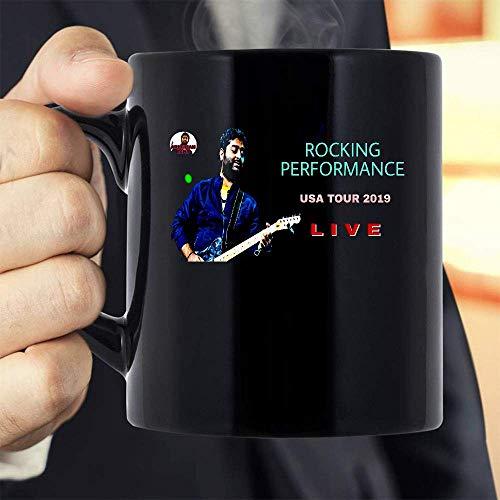 ARIJIT SINGH ROCKING LIVE PERFORMANCE USA TOUR 2019 Mug Coffee Mug Gift Coffee Mug 11OZ Coffee Mug