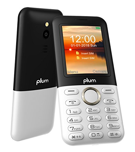 Plum TAG - Unlocked 3G GSM Phone 2.4'' Display Big Key Pad FM Radio Camera W/Flash ATT Tmobile MetroPCS Cricket - White by Plum (Image #2)