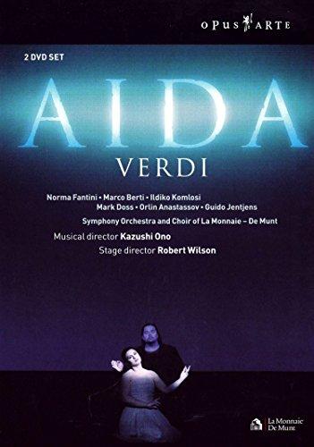 Verdi - Aida / Norma Fantini, Marco Berti, Ildiko Komlosi, Mark Doss, Orlin Anastassov, Kazushi Ono, Brussels Opera