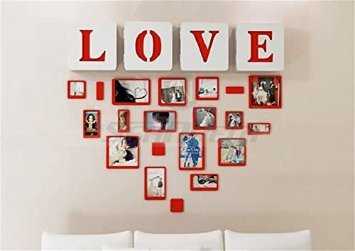 10pcs bricolaje creativo 3d pegatina de pared de madera Rectángulo ...