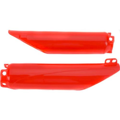UFO Plastics Fork Slider Protectors Red for Honda CRF 150R