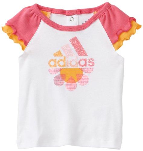 adidas Baby Girls' Daisy Daze Raglan Tee