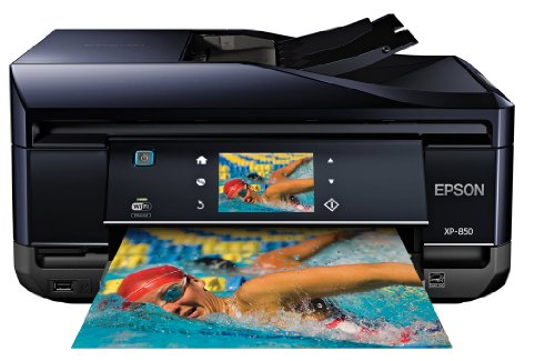 Epson Expression Home XP-850 Wireless Color Photo Printer...